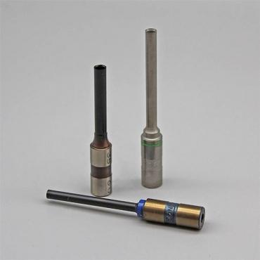 Teflonbeschichtet, Gesamzlänge : 85mm, 11-er Schaft, grün makiert