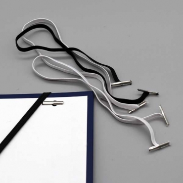 Flachgummi mit 2 Splinten, ca.5 mm breit