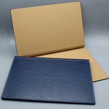 Klemmbindemappen Hardcover, hochwertige Lederoptik