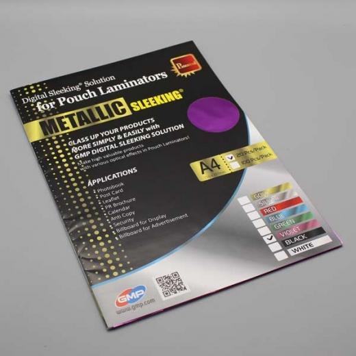 Digital Sleeking Folien Metallic Print, Violet-Metallic, A4-Bogen