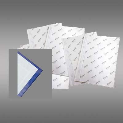 Vorsatzblätter weiß, DIN A4, Querformat/landscape