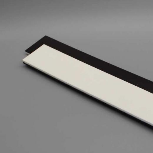 Ausgleichsfilz, einseitig magnetisch weich  391 x 60 x 8mm, als Unterlage