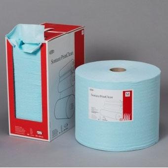 Universelles Reinigungstuch Sontara® Print Clean (478), mittel, 32,5 x 42 cm