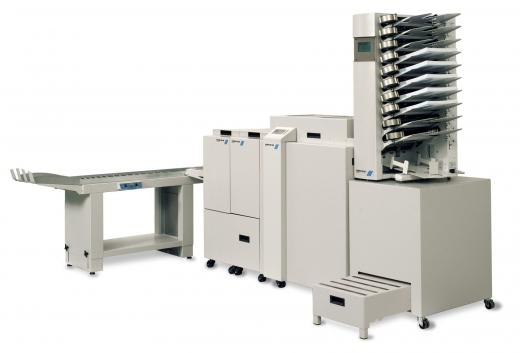 Broschürenfertigungssysteme DFS 300/ 300S mit Blasluft-Feeder