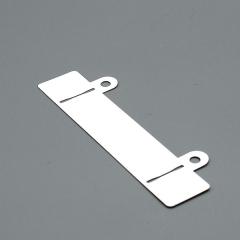 Abheftvorrichtung, geschlitzt, 24 x 122 mm, Ösen 13 mm lang