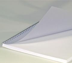 Deckblätter DIN A4, 0,20 mm, Hitzebeständig, satin matt