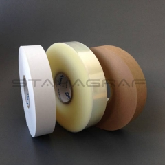 Ultraschall Banderolierpapier, braun, 30 mm x 800 lfm