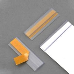 Klemmschienen DIN A5, 1 mm Füllhöhe, selbstklebend, 210 x 15 mm