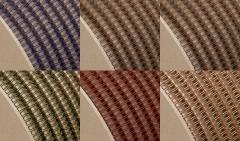 Drahtkammbindung Spule, Farbig, 2:1, 1, Ø 25,40 mm