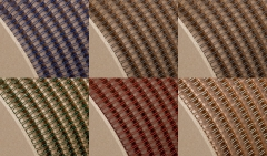 Drahtkammbindung Spule, Farbig, 2:1, 1 1/8, Ø 28,50 mm