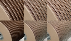Drahtkammbindung Spule, 3:1, 1/4, Ø 6,90 mm