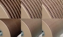 Drahtkammbindung Spule, 3:1, 1/2, Ø 12,70 mm