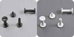 Buchschrauben Kunststoff, Schafthöhe 15 mm