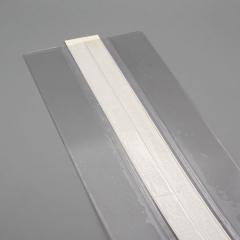 Schutzkanten für Schreibtischblocks, DIN A2, mit Hartfolie verstärkt, transparent selbstklebend