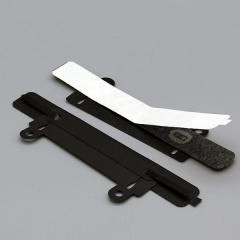 4-Teilige Heftmechanik, ausschiebarer Abheftvorichtung, schwarz