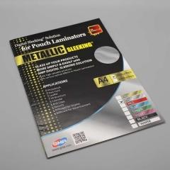 Digital Sleeking Folien Metallic Print, silber, A4-Bogen