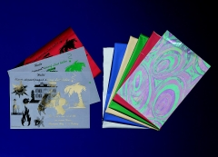 Digital Sleeking Folien Metallic Print, Blau-Metallic, A4-Bogen