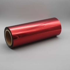 Digital Sleeking Folien Metallic auf Rolle: 320 mm x 300 m, Rot-Metallic