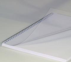 Deckblätter DIN A4, 0,20 mm, transparent klar