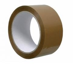 PVC-Packband,super stark haftend, braun, 50 mm breit,(Rolle mit 66 m)