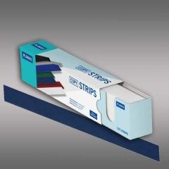 Planax® Strips 297mm (A4), 25mm/B, dunkelblau