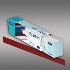Planax® Strips 297mm (A4), 25mm/B, rot