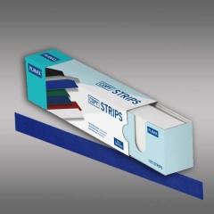 Planax® Strips 297mm (A4), 35mm/D, blau