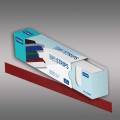 Planax® Strips 297mm (A4), 35mm/D, rot