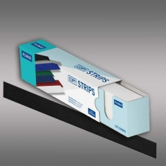 Planax® Strips 297mm (A4), 40mm/E, schwarz