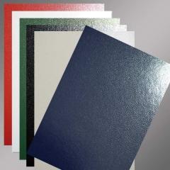 Hochwertige Einbanddeckel, A4 Vollkarton, , 325g/m², in verschiedenen Farben erhältlich
