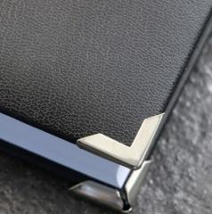 Buchecken PS 16, 16 x 16 mm, vernickelt