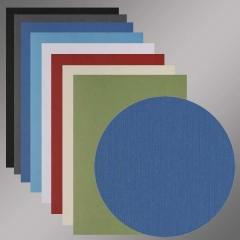 Rückwand DIN A4, Leinenstruktur farbig, 270 g