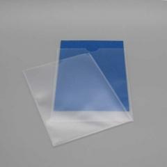 Schutzhüllen A4, transparent, Schmalseite offen
