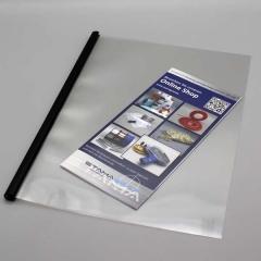 U12 Softcover beidseitig transparent, 50-90 Blatt/80g