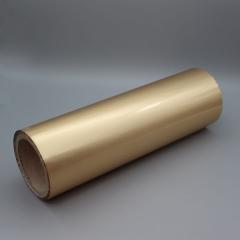 Digital Sleeking Folien Metallic auf Rolle: 315 mm x 100 m, Matt-Gold