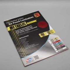 Digital Sleeking Folien Metallic Print, Rot-Metallic, A4-Bogen (copy)