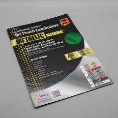 Digital Sleeking Folien Metallic Print, Grün-Metallic, A4-Bogen (copy)
