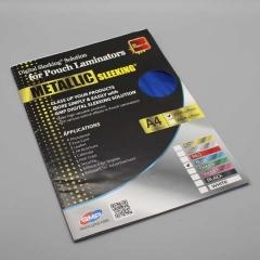 Digital Sleeking Folien Metallic Print, Blau-Metallic, A4-Bogen (copy)