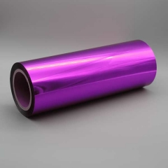 Digital Sleeking Folien Metallic auf Rolle: 320 mm x 300 m, Violet-Metallic, 77 Kern