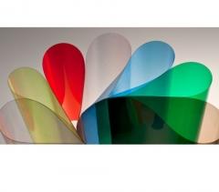 Deckblätter DIN A4, 0,20 mm, transparent farbig