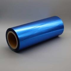 Spot Metal Folien Metallic auf Rolle, Farbe: metallic blau Farb-Nr.: 391, Rolle 320 mm x 305 m