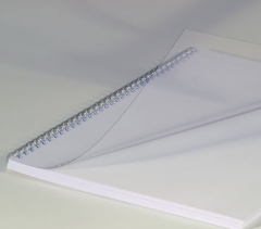 Deckblätter DIN A3, 0,20 mm, transparent klar
