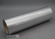 Spot Metal Folien Metallic auf Rolle, Farbe: silber matt Farb-Nr.: Alufin matt, Rolle 320mm x 305lfm
