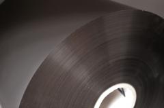 Soft Touch, black, 35mic, wiederbedruckbar, für Sleeking geeignet, 320 x 800lfm, 3 Zoll Kern, 77mm