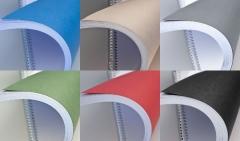 Rückwand DIN A4, ledergenarbt farbig, 250g