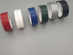 Gewebeband, lackiert, 25mmx50m grau