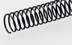 Spiralen Draht Ø 40mm, DIN-A4  Steigung 6mm, Länge: 32 cm
