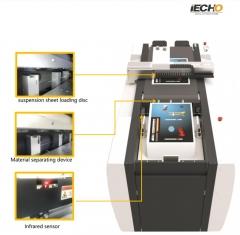 PK-iEcho Cut 0604,Flachbettplotter mit Rollenfeeder, bis 1,5 mm Materialstärke