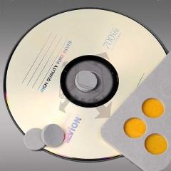 CD Schaumstoffpunkte, 16 mm (Farbig) VPE: 100 Stück