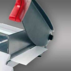 1 Satz Werkstoffmesser/Schnittschiene IDEAL Model 1080